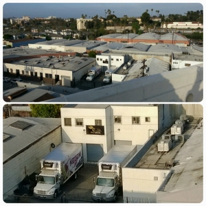 """Shalom and Son's,"" a kosher food and wine distribution business operating in the Boyle Heights Flats."