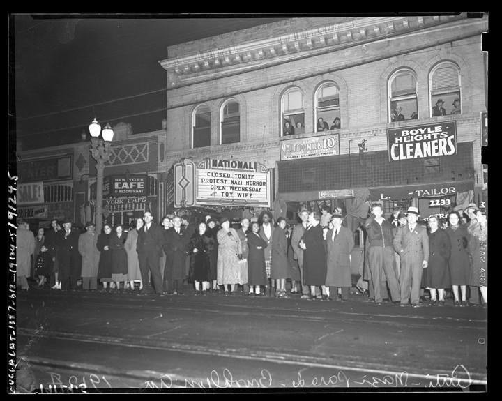 Anti-Nazi Protest Boyle Heights (original)