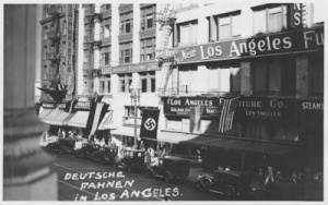 USA_NAZI_german-swastika-Los-Angeles-Broadway-Street