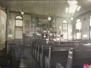 Breed Street Shul, biggest synagogue east of Chicago.
