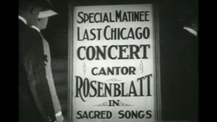 "Rosenblatt, ""The Jazz Singer"" (1927)"