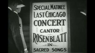 """Rosenblatt, """"The Jazz Singer"""" (1927)"""