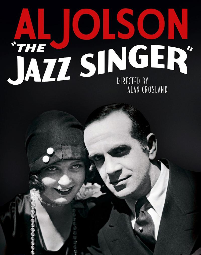 """The Jazz Singer"" (1927) with Al Jolson."