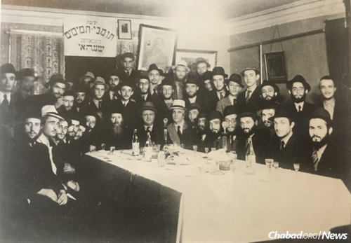 Yeshivas Tomchei Temimim in Shanghai during WWII