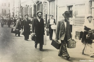Refugee yeshivah students arrive in Shanghai