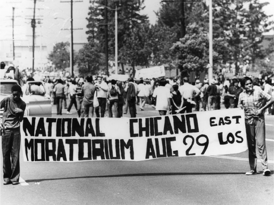National Chicano Moratorium, Aug. 29, 1970. East Los Angeles, Calif.