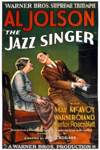 JazzSinger1927Poster